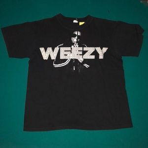 Weezy lil Wayne vintage tee hip hop